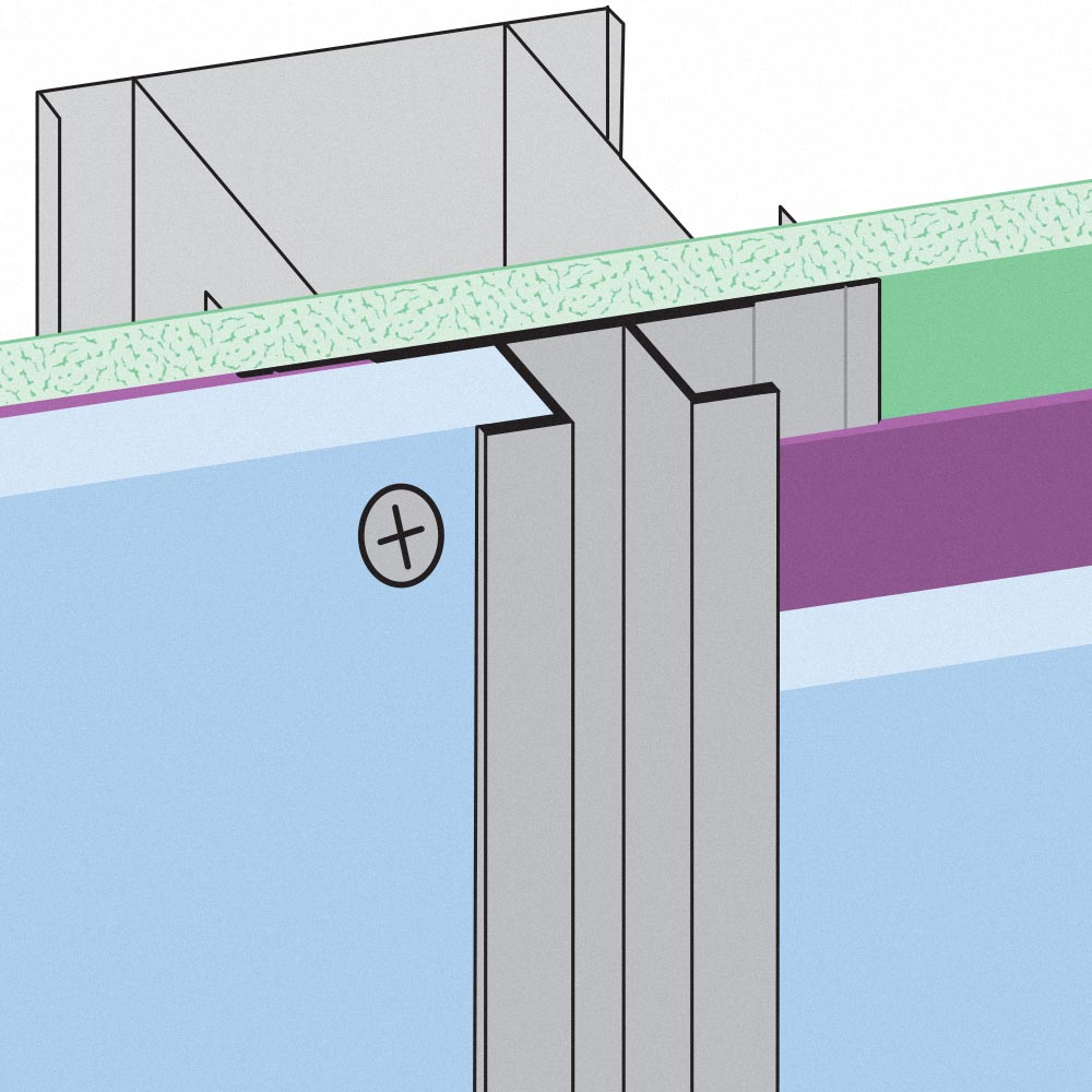 Stockton Products: CR-FCP - Channel Reveal for Fiber Cement Panel