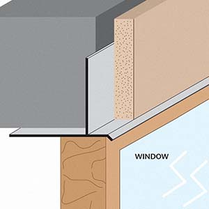 FRWDM: Facia/Recessed Window Drip Molding
