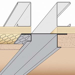 OPC: Offset Plaster Channel Screed